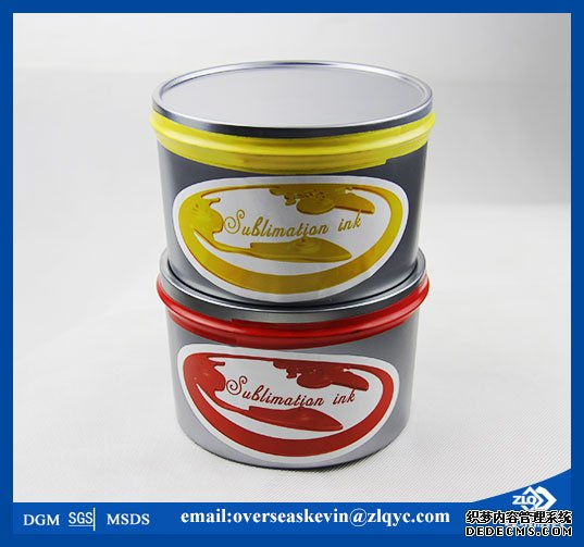 sublimation thermal transfer offset ink in the Italy