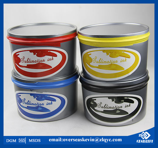 dye sublimation ink for 4 colors from zhongliqi