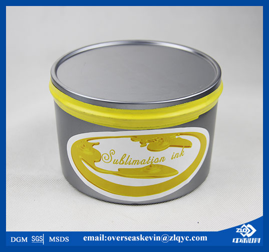yellow sublimation offset ink for textile