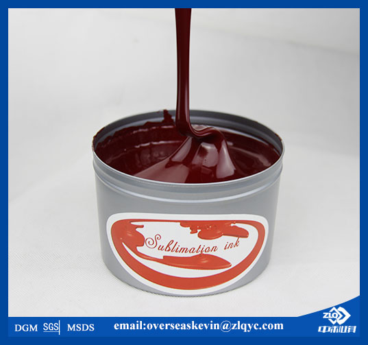 Most Popular! dye heat transfer printing ink (Zhongliqi)