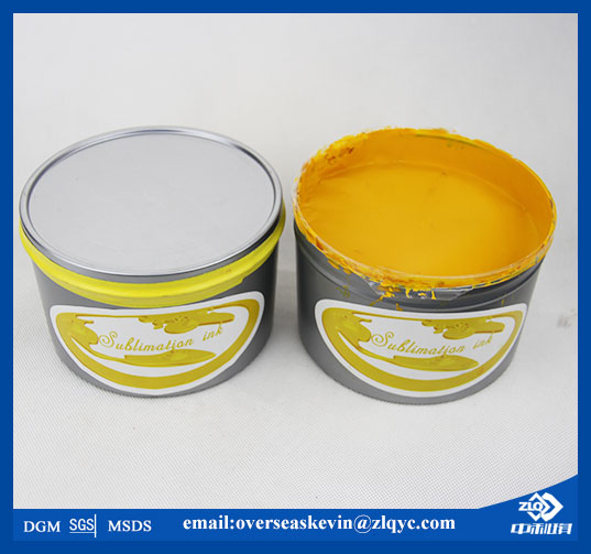 sublimation ink for polyester transfer printing (Zhongliqi)