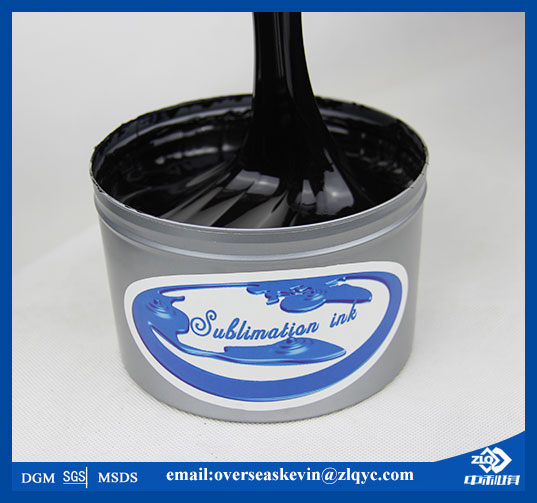 Sublimation ink for litho transfer printing
