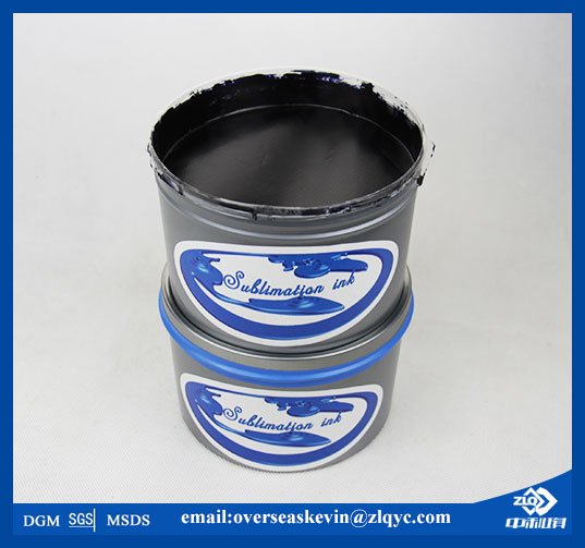 Sublimation Ink for Offset Lithographic Printing