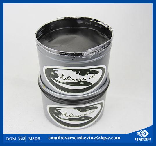 Deep Black Offset Sublimation Ink for Porcelain Transfer