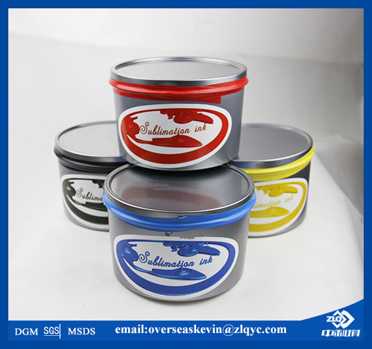 Sublimation Ink Used on Offset Printing Machine