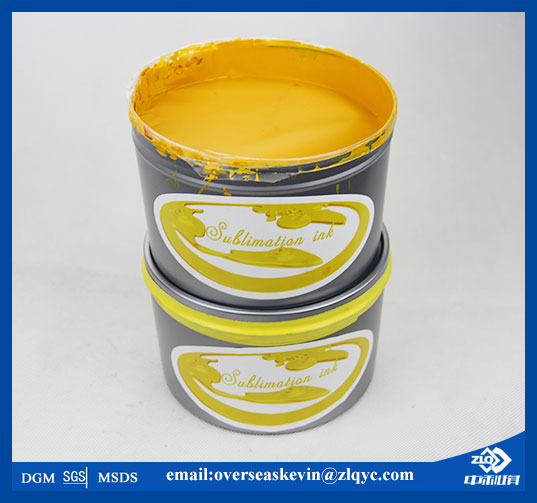 Sublimation Ink for Offset Lithographic Presses