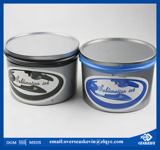 Lithographic Sublimation Transfer Ink