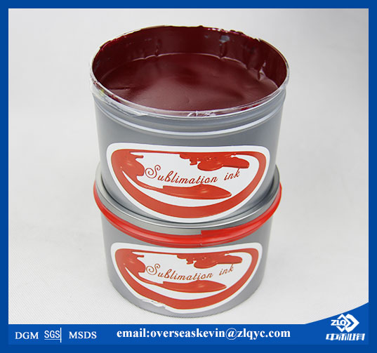 Famous Brand ZhongLiQi Sublimation Offset Transfer Ink