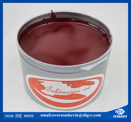 Fade Resistant ZhongLiQi Litho Sublimation Transfer Ink