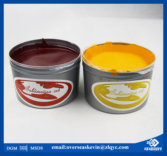 CMYK ZhongLiQi Sublimation Transfer Offset Ink