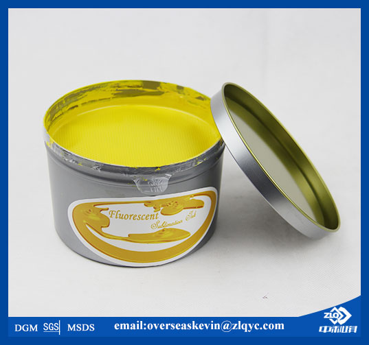 Fluorescente Sublimación Tinta Offset (ZHONGLIQI)