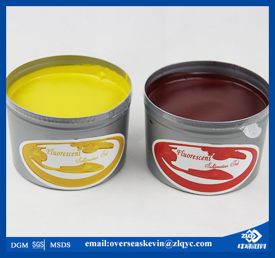 fluorescent sublimation offset ink for polyester