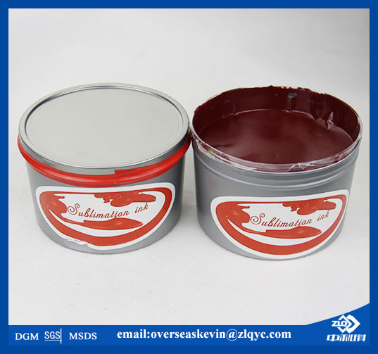 offset heat transfer ink for fabric (ZHONGLIQI)