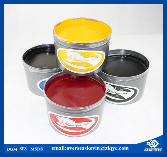 Fabric used offset sublimation transfer ink